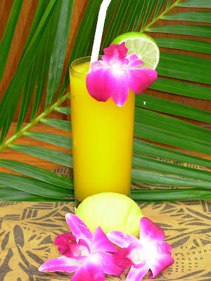 island tropical drink