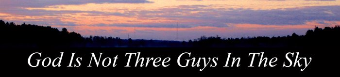 God Is Not 3 Guys