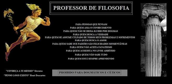 PROFESSOR DE FILOSOFIA