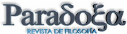 Revista de Filosofa Paradoxa