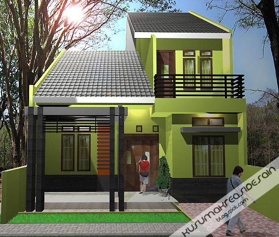 jasa desain desain konsep rumah minimalis gambar 1