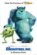 . DisneysPixar berjudul Monster, inc. sebuah animasi yang cukup lawas.