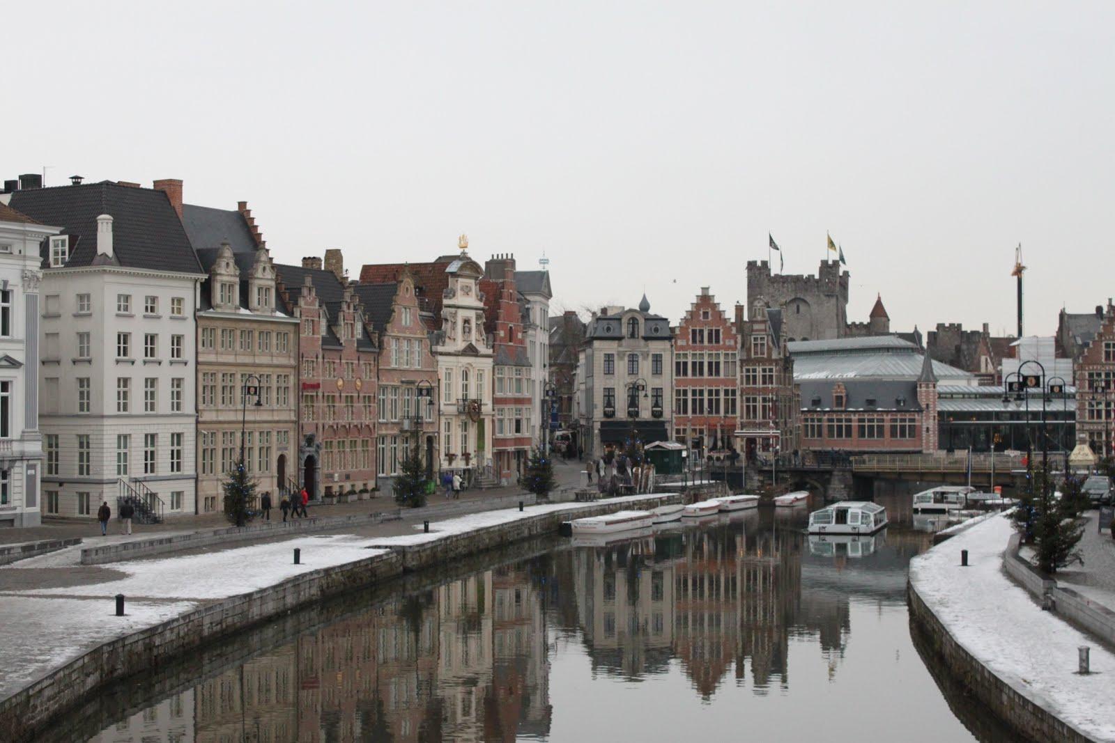 Leie River Gent Belgium