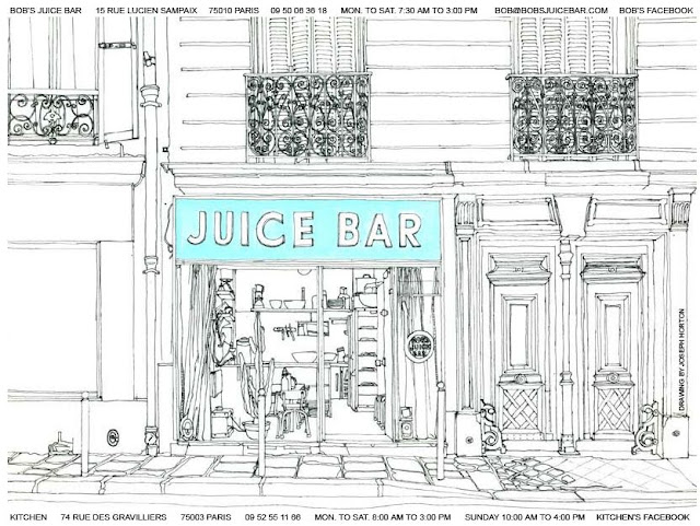 Paris Bob's Juice Bar