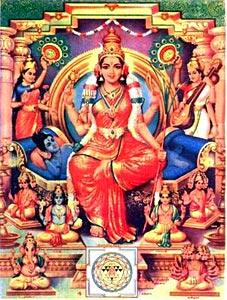 Image result for LALITHA tripura sundari avatharam