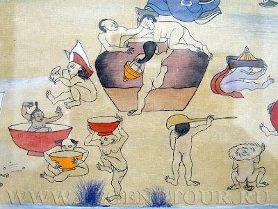 Монгольская живопись. Балдуугийн Шарав