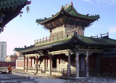 Храм Махараджей, Дворец Богдо хана, Улан-Батор, Монголия