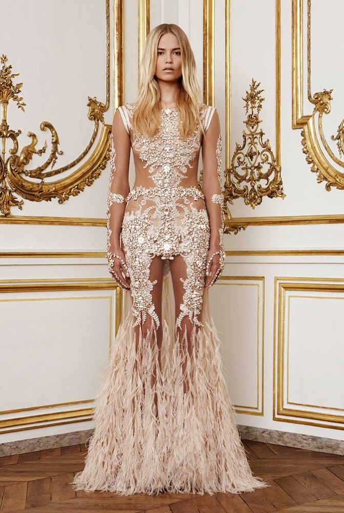 WEDDING DRESS MONDAY GIVENCHY 2010 COUTURE COLLECTION Peonies