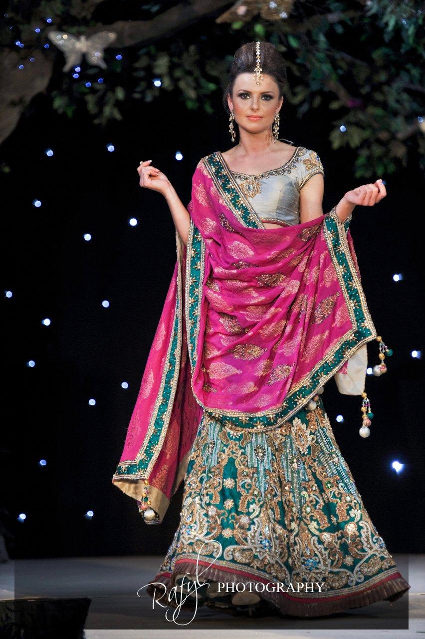 Asian bridal fashion show 57