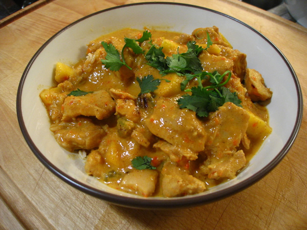 Friendly Cooking: Gluten and Lactose Free Chicken Curry