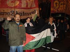 Contra o genocídio de Israel em Gaza, sempre em protesto!