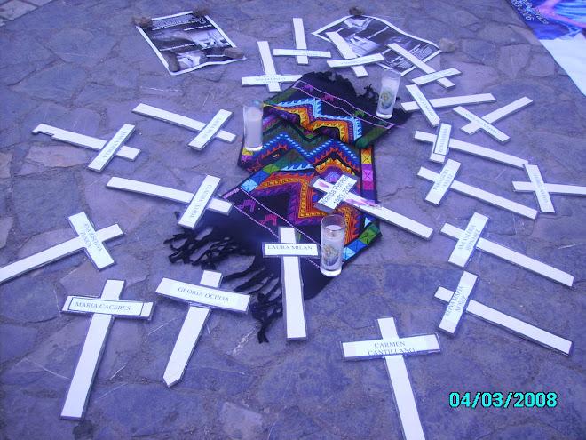 Femicidios en Honduras