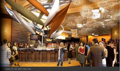 Mohegan Sun Video Bar - Casino of the Wind