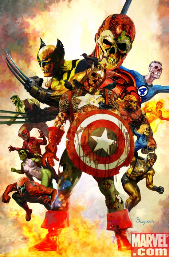 Raccoon Comics: Marvel Zombies