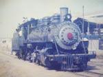 La locomotora pasaba desde 1908