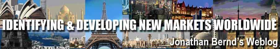 Jonathan Bernd - Identifying and Developing New Markets Worldwide