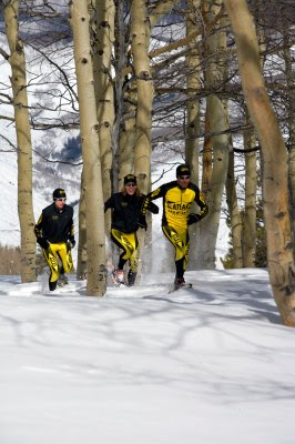 Atlas snowshoe race