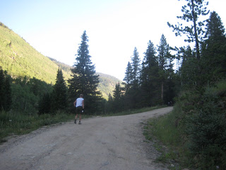 Sean Meissner Team Montrail TransRockies Run