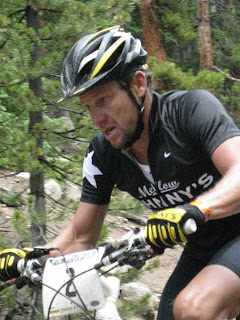 Lance Armstrong Leadville 100 mountain bike