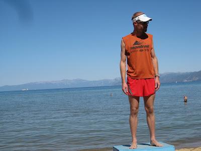 Sean Meissner Lake Tahoe Marathon Montrail