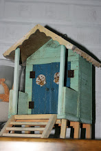 Quirky little birdhouse