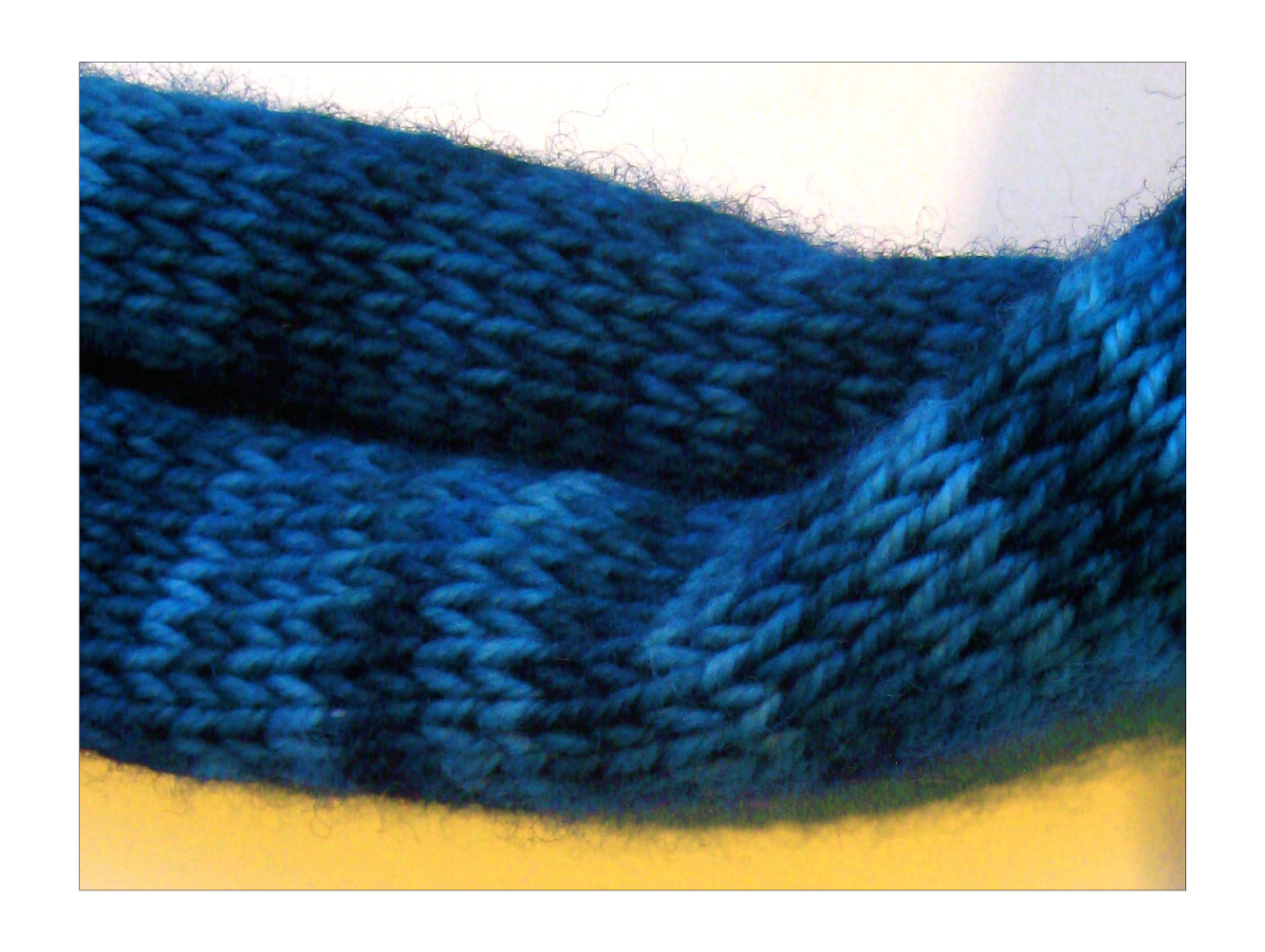 Knitting Stitch To Prevent Curling : TECHknitting: Curling scarf rescue mission--part three: transforming stockine...
