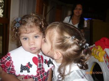 Giulia e Aninha...