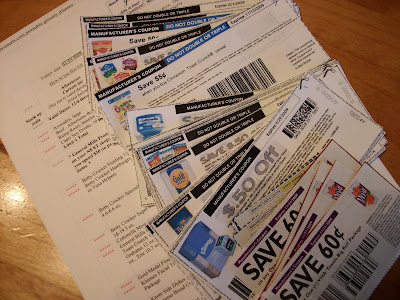 photograph relating to Grocerysmarts.com Printable Grocery Planner referred to as The Centsible Couponer: 2009