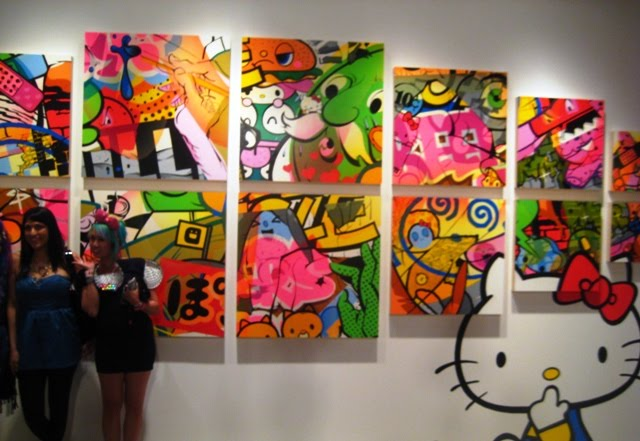 hello kitty art basel. Sanrio is celebrating their 50th Year Anniversary during Art Basel so make