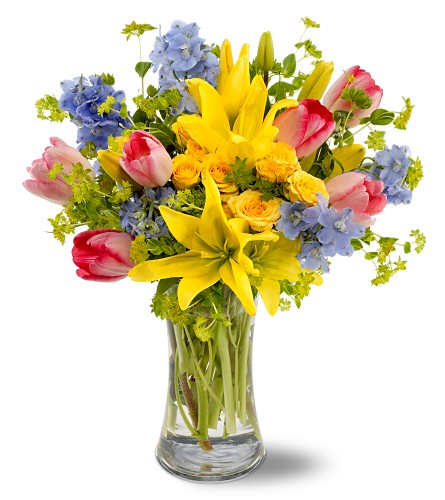 spring bouquet of flowers