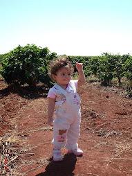 Nycilli filha de Jeovah e Sonia Vrubleski