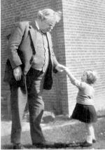 G.K. Chesterton with Child