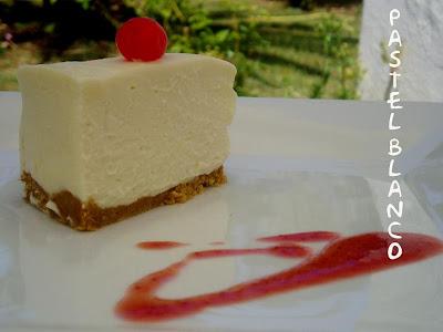 Pastel helado de queso