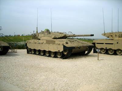 Tanque Merkava 2 - Israel