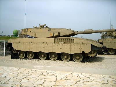 Tanque Merkava 3 - Israel