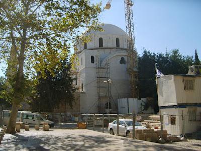 Sinagoga Hurvá - 2009