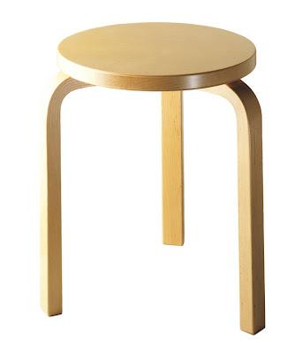 Stool 60 by Alvar Aalto