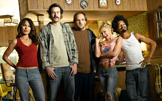 The cast of My Name is Earl.