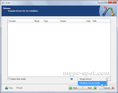 Integrasikan Driver ke Setup Windows XP
