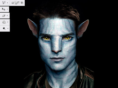 Film Na'vi Avatar Photoshop Tutorial - Video :  cs2 cs3 cs4 video tutorial