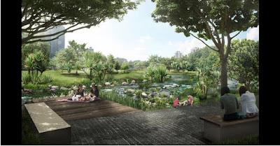 wildsingapore news: Bishan Park canal reshaped into river