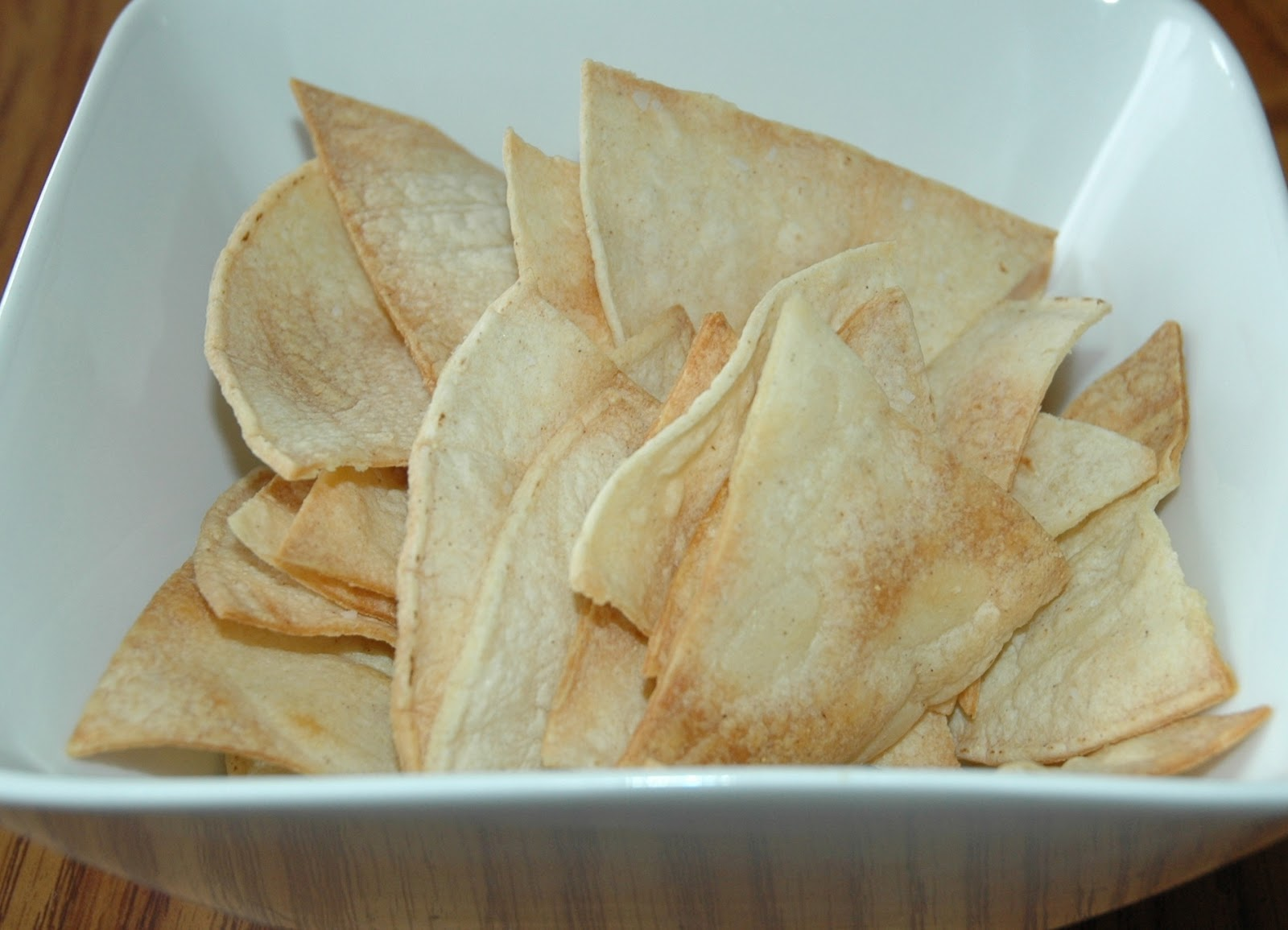 What's on your menu this week?: Homemade Tortilla Chips
