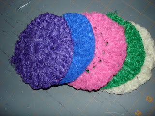 CROCHET PATTERN FOR NYLON NET DISH SCRUBBER - Crochet Club