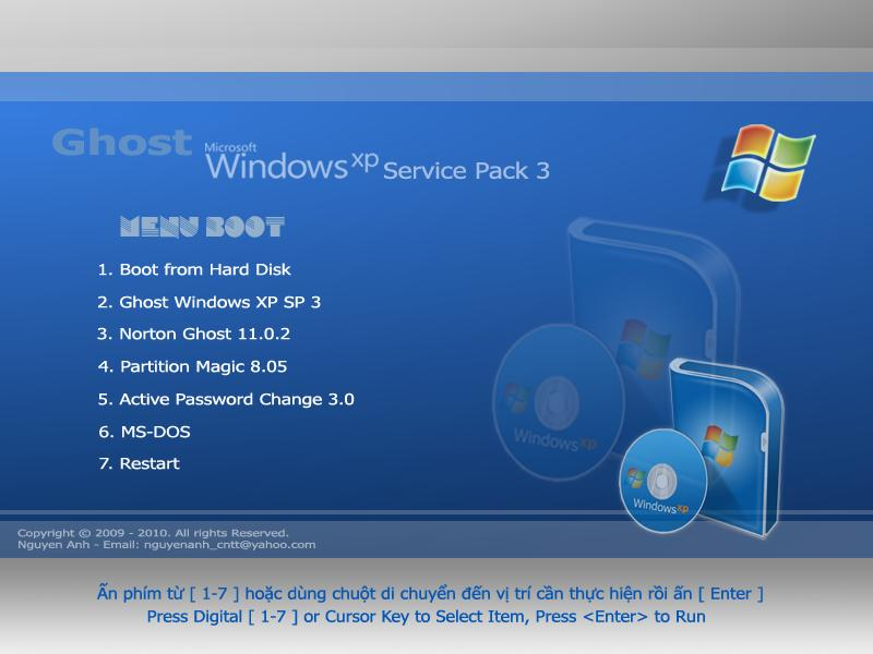 Дельфин. Windows Ghost XP Pro Sp3 Blue Extreme Final/ENG/x8. Контакты. V