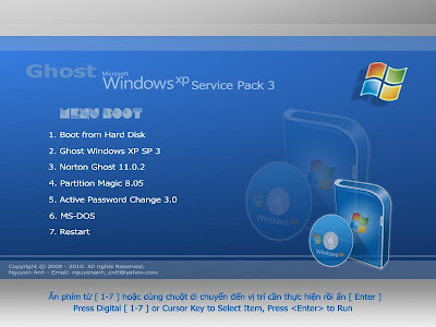 Windows Ghost XP Pro Sp3 Blue Extreme Final/ENG/x86 | Full Version | 700 MB