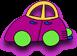 Rompecabezas de autos simples