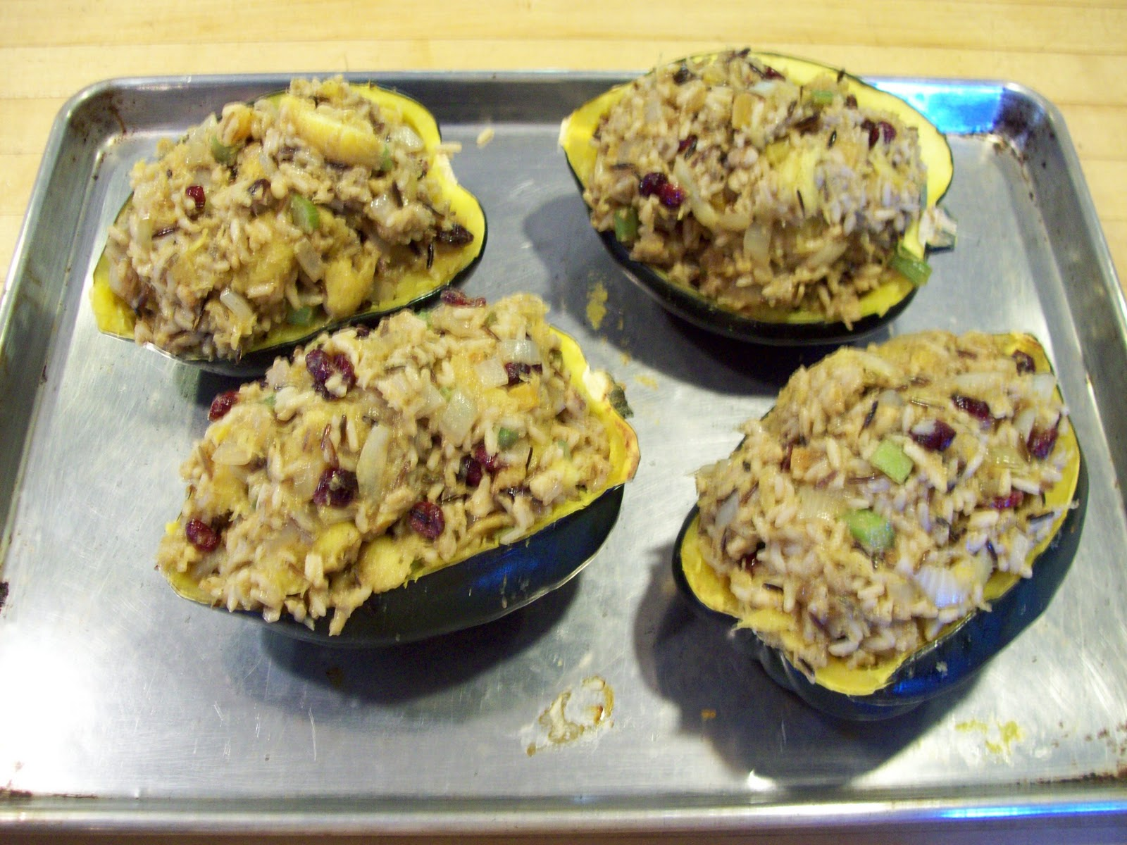 Roasted Acorn Squash Stuffed Shells Recipes — Dishmaps