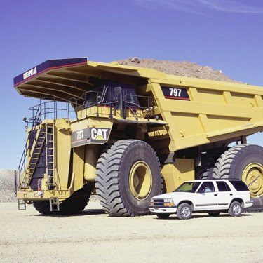 797 caterpillar truck. The Caterpillar 797B is an