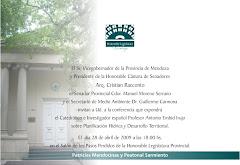 Encuentro sobre el agua en el Bicentenario de la República Argentina