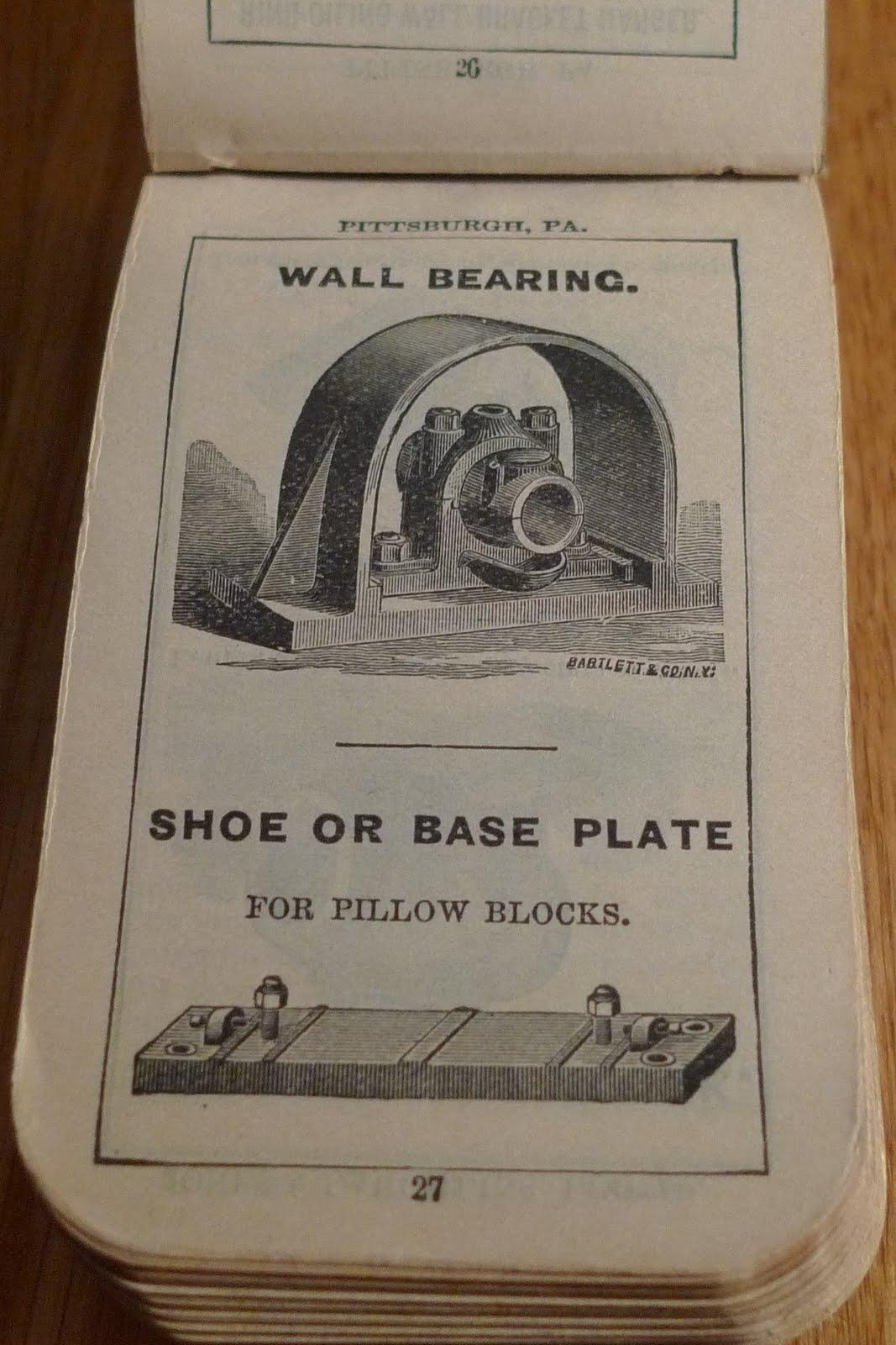 Pulleys History : A following sea jones laughlins pocket steel guide